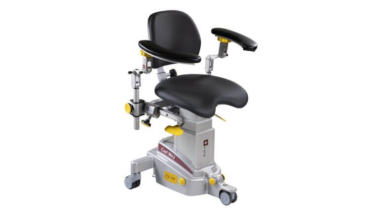 Surgeon Chair Armrests Microsurgery Eye ENT Neuro Plastic Dental Anaesthesia