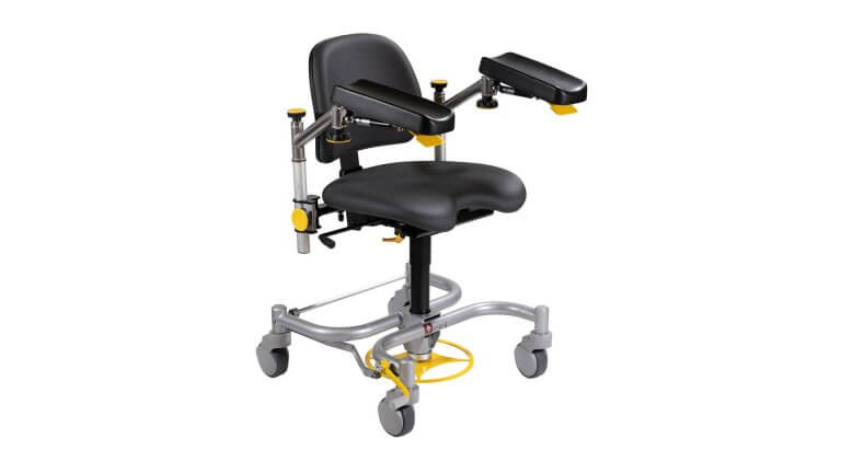 Surgeon Chair Armrests Microsurgery Ophthalmology ENT Neurosurgery Plastic Surgery Dental Surgery